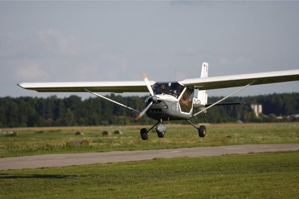 Slovensko električno letalo podjetja Pipistrel